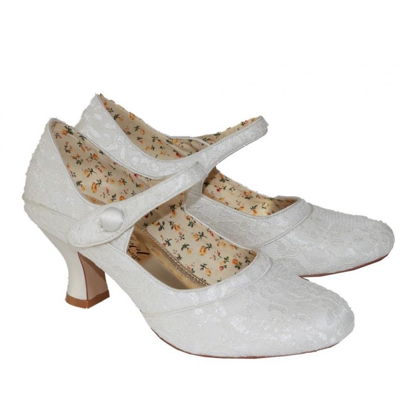 vintage kengät häät juhlat pitsiä